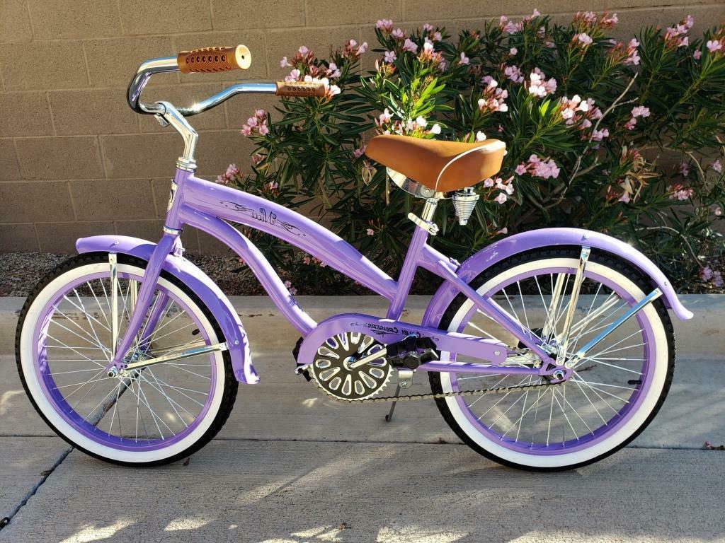 nicci 20 girls beach cruiser lavender