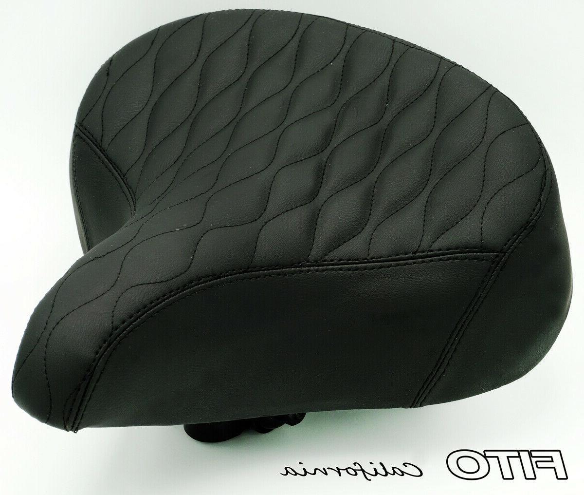 oversize bicycle seat saddle cruiser comfort city