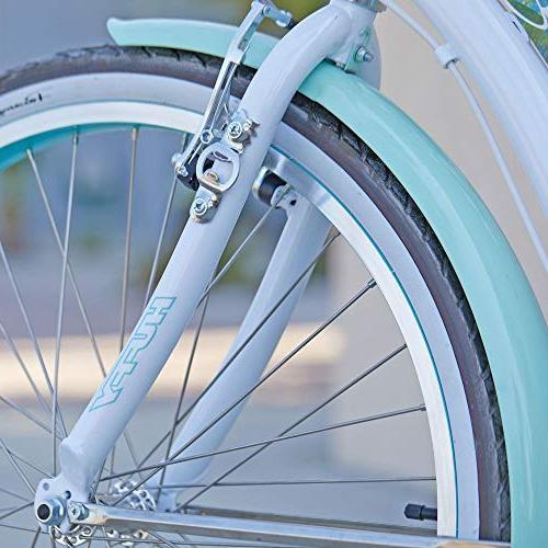 Huffy Beach Cruiser Bike inch 6-Speed,