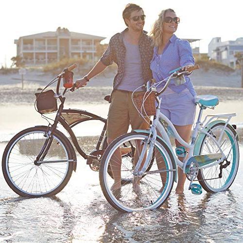 Huffy Panama Jack Cruiser Bike 6-Speed, Lightweight