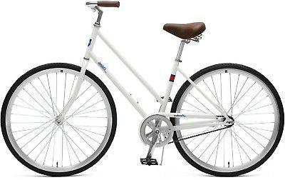 Retrospec Critical Cycles Step-Thru City Coaster Brake, Olive,
