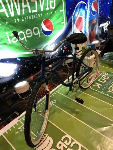 pepsi promotional mens 26 cruiser bike