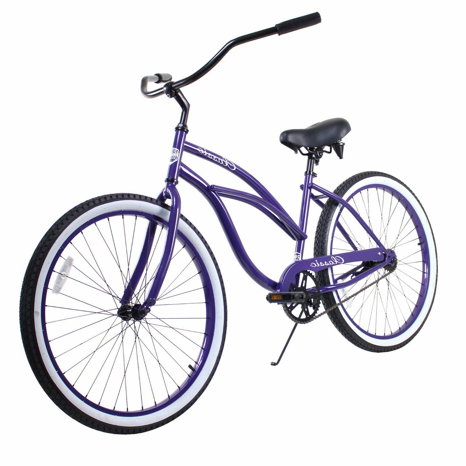 purple adult 26 zf bikes classic single