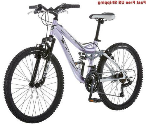 r3577 girl s maxim full suspension bicycle