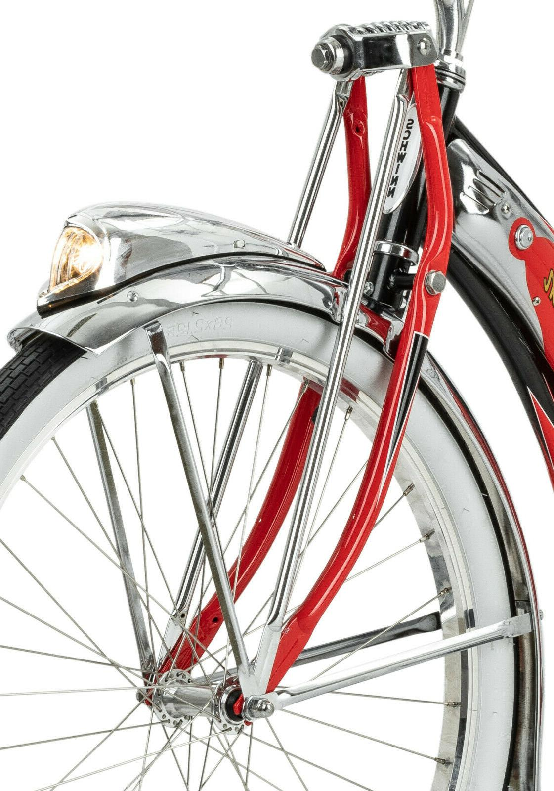 Schwinn Red Bike, single wheels 125 Anniversary