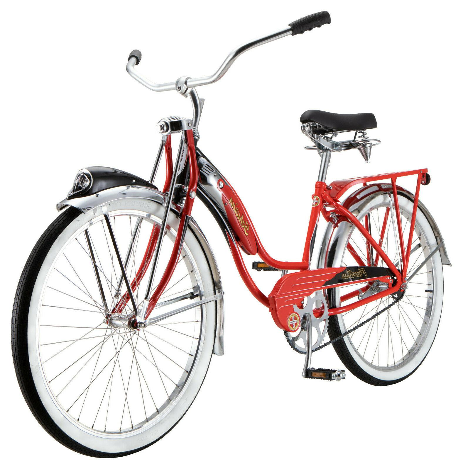 red phantom cruiser bike single speed 26