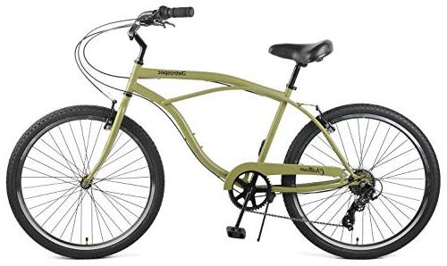 Retrospec Chatham Beach Cruiser, Speed, Matte Miltary Green