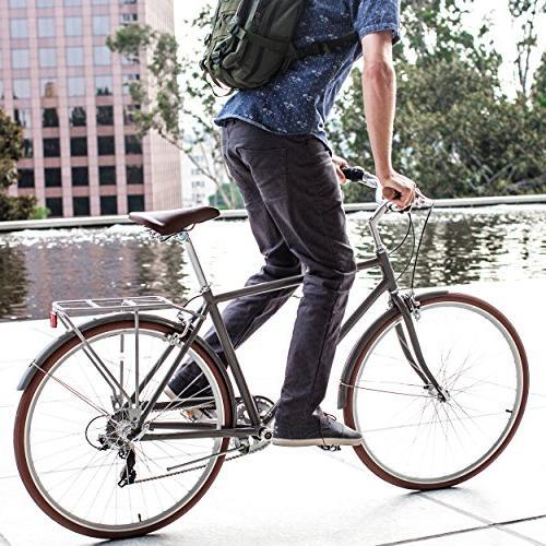 """sixthreezero in Park 7-Speed City Road Bicycle, 18"""""""