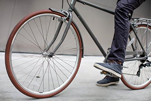 sixthreezero the Park Men's Road Bicycle, Frame/700x32c Wheels