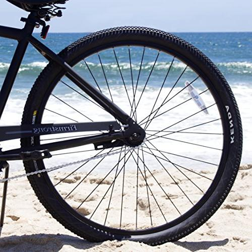 Firmstrong Rock Single Beach Bicycle, 29-Inch, Matte Black