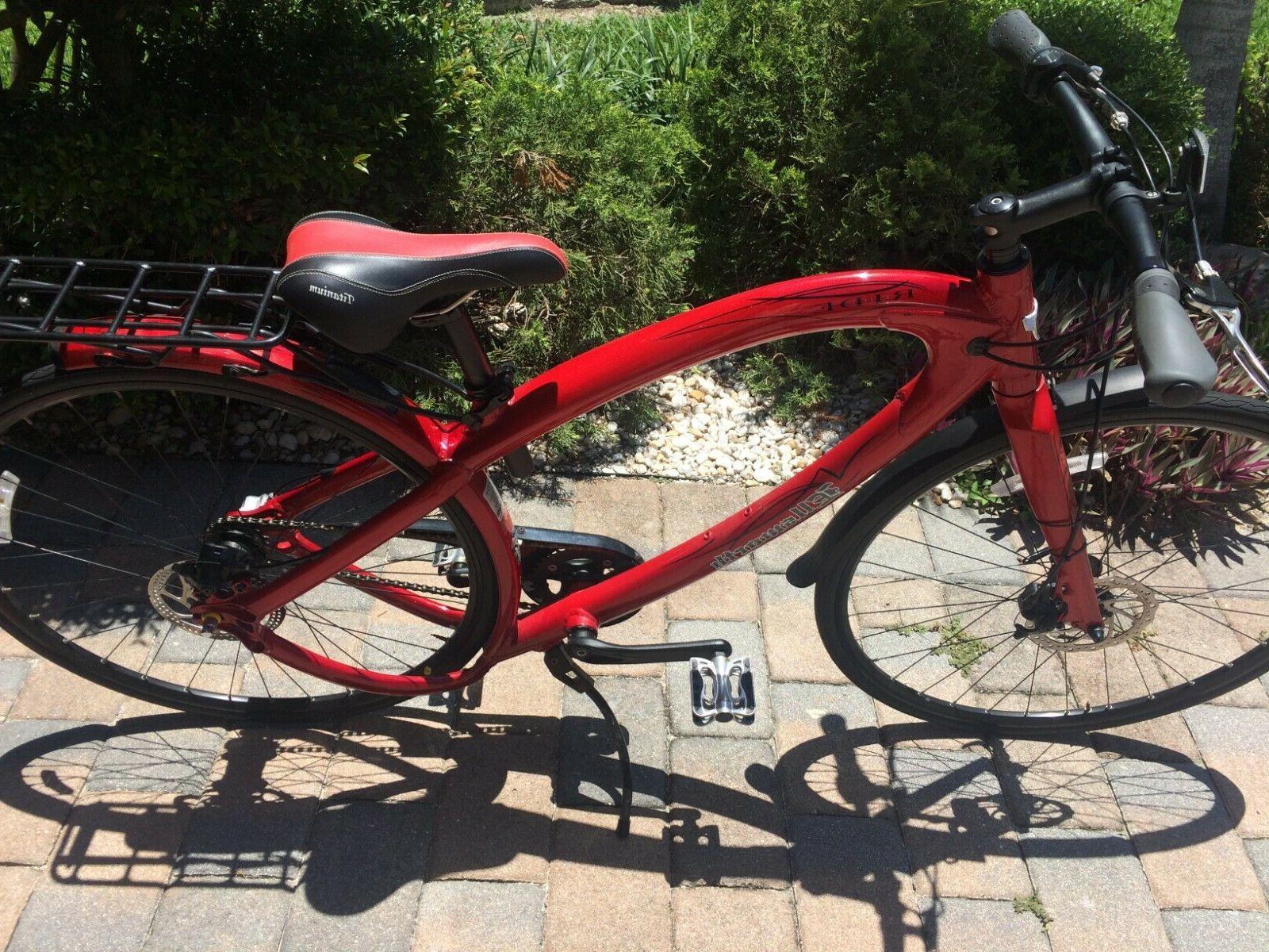 Ellsworth's Red beach bike patented