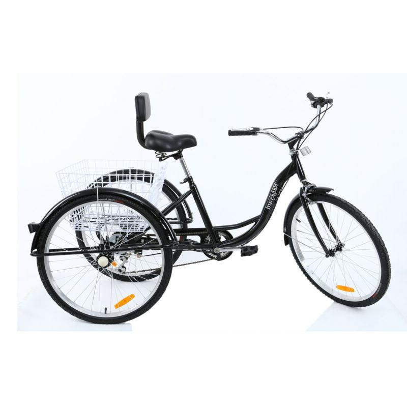 Shimano 3-Wheel Tricycle Bicycle Bike w/