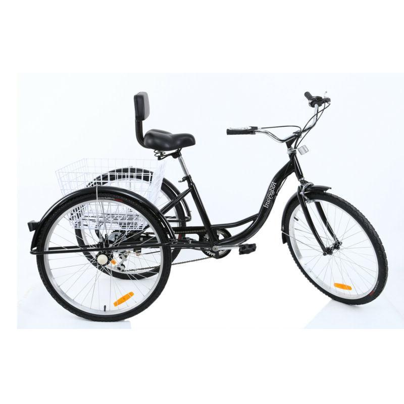 7-Speed Tricycle Trike Cruise Aluminum 3