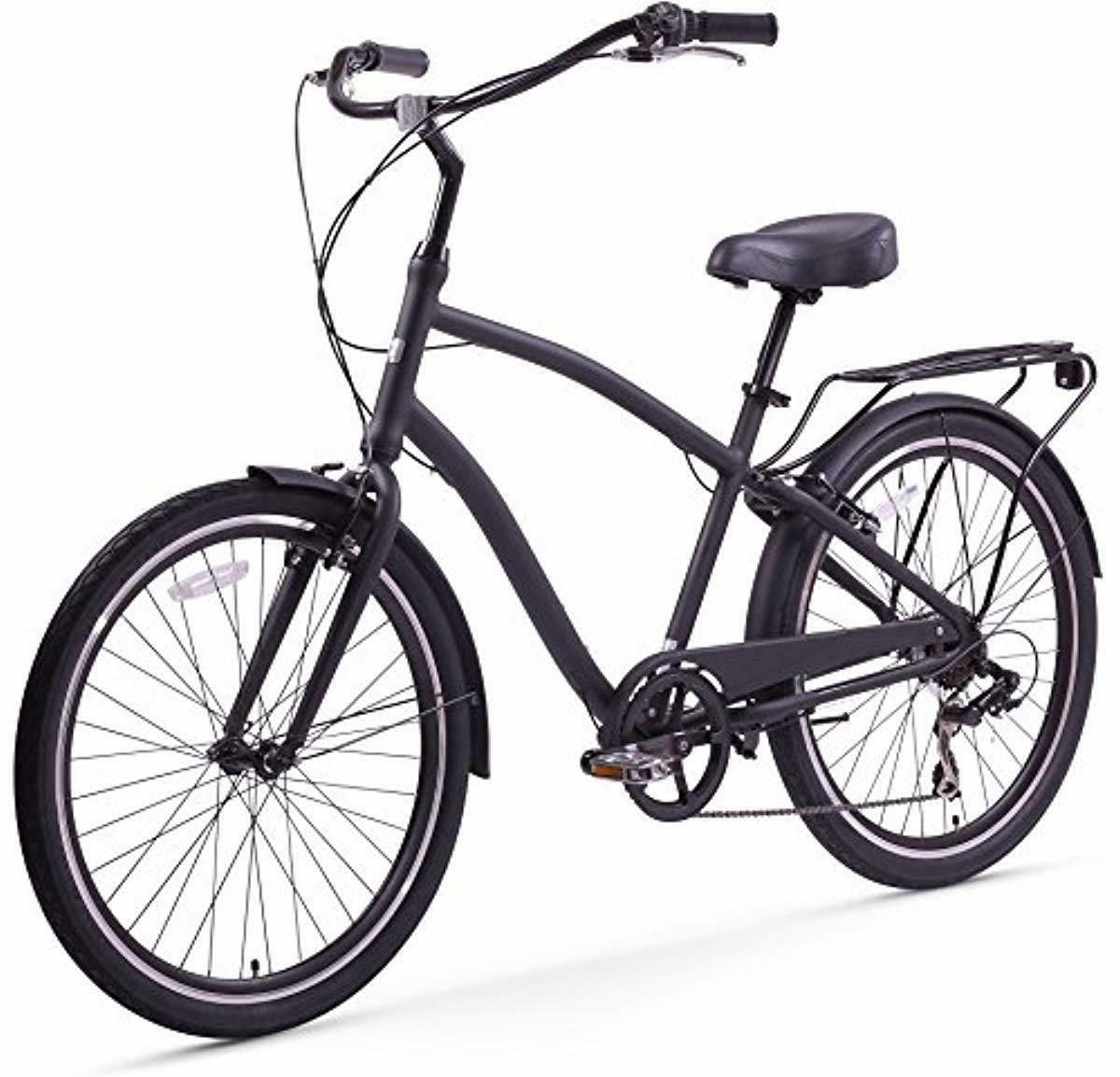 sixthreezero evryjourney men s hybrid cruiser bicycle