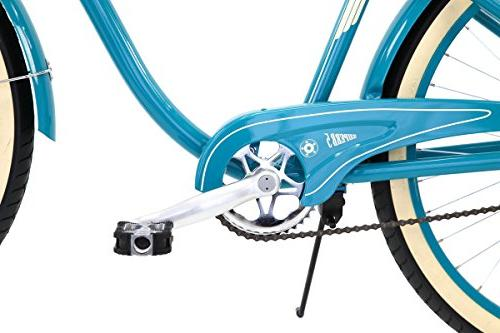 26-Inch Retro Cruiser Bike, Teal