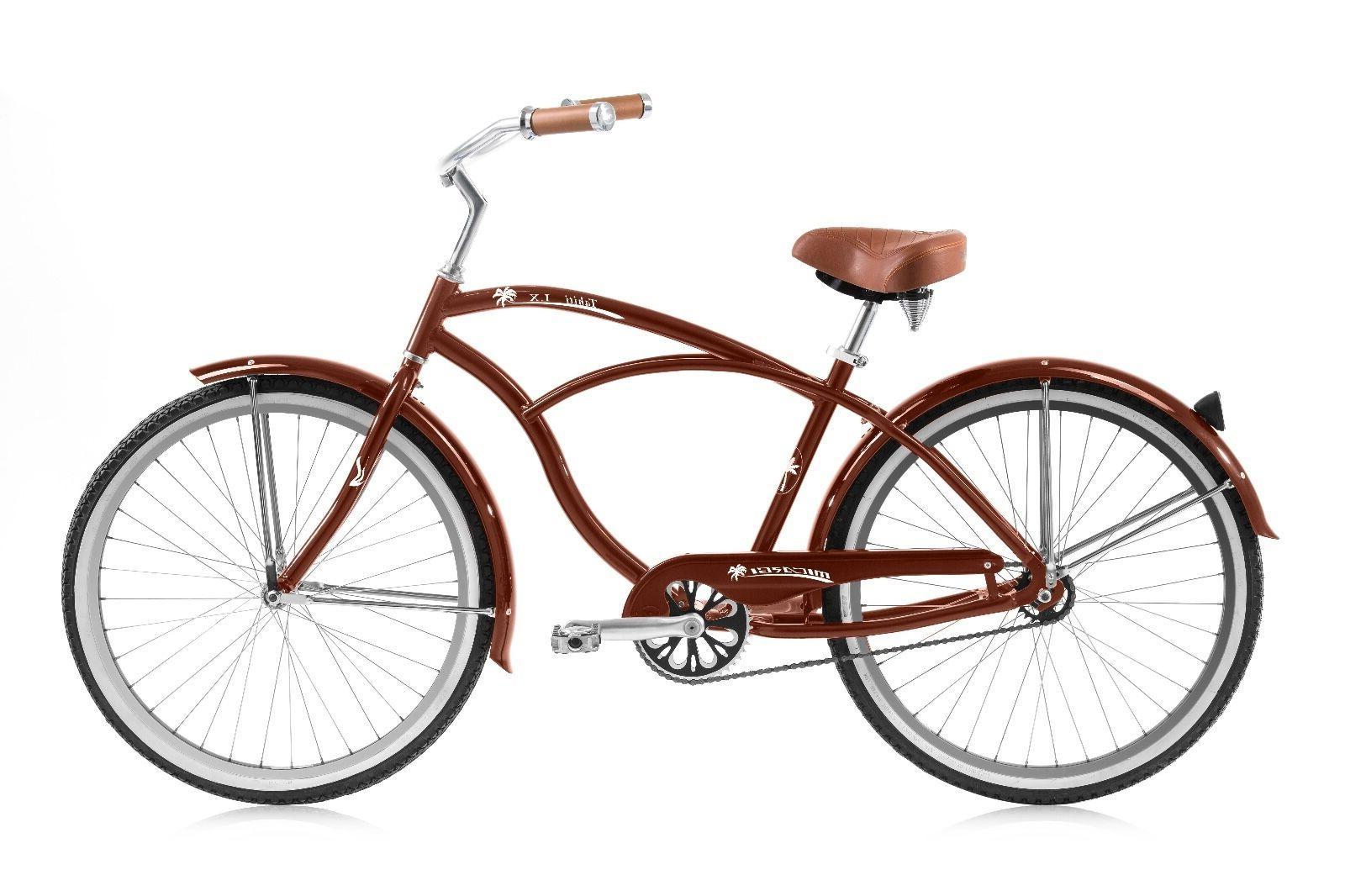 Micargi Tahiti LX, Bike Black, and Red
