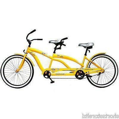 tandem comfort hybrid cruiser bike