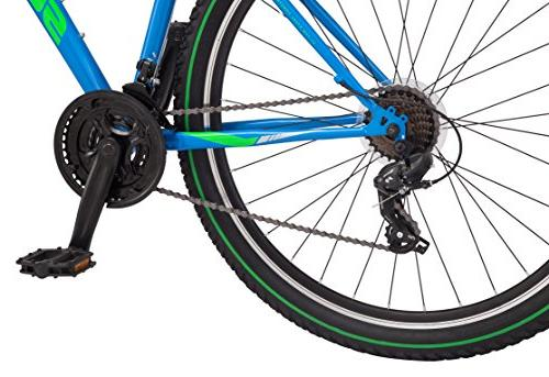 "Schwinn High Mountain Bike 18"" Medium Frame Blue"