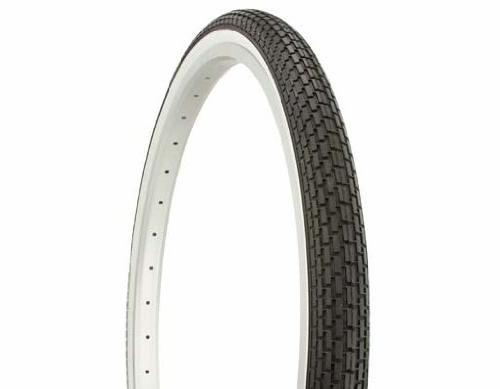 tire duro black white side