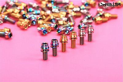 titanium ti m5 x 12mm hex bolt