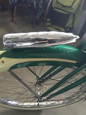 torpedo bike headlight chrome schwinn cruiser light
