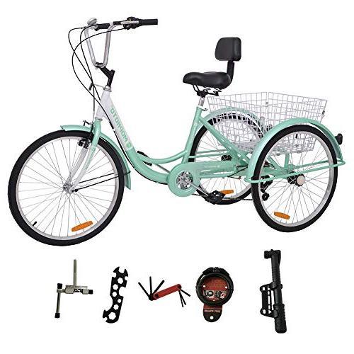 tricycle trike cruiser bike three