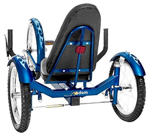 Mobo Triton Pro Recumbent Trike. Pedal Bicycle. Tricycle Teens
