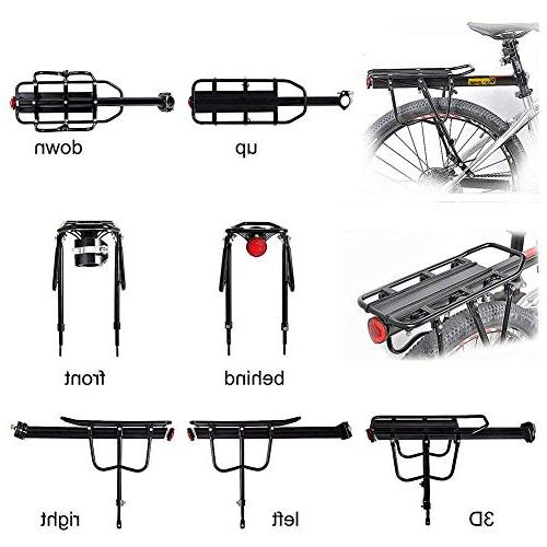 West 110Lb Almost Universal Cargo Cycling Equipment Stand Footstock Bicycle Carrier Racks with