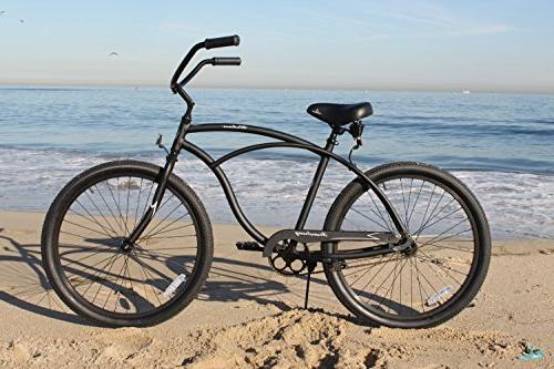 Firmstrong Bicycle, 26-Inch, Black
