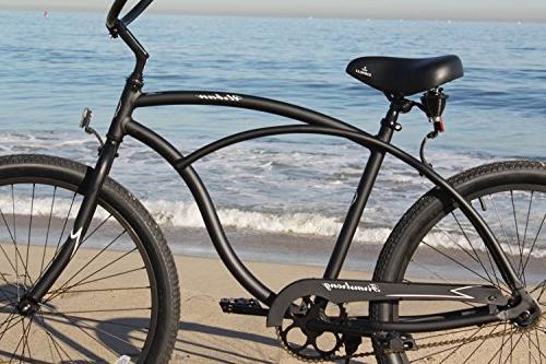 Firmstrong Urban Man Bicycle, 26-Inch, Matte Black