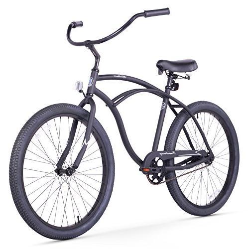 Firmstrong Urban Single Cruiser Bicycle, 26-Inch,