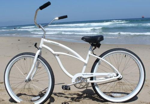 Firmstrong Single Bicycle, White