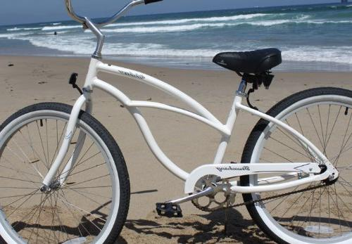 Firmstrong Urban Single Bicycle, 26-Inch, White