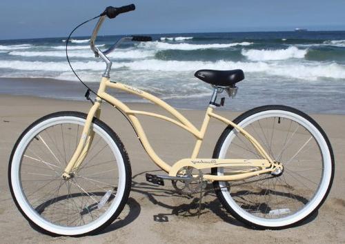 "Beachbikes Girl's Urban 24"" Cruiser"