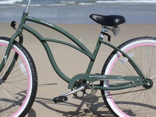 Firmstrong Urban w/ Women's Beach Cruiser Bik