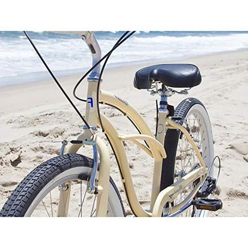 Firmstrong Urban Lady 7-Speed Beach 26-Inch, Vanilla