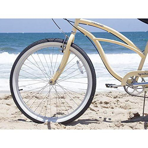 Firmstrong Urban Lady 7-Speed Beach Cruiser Vanilla
