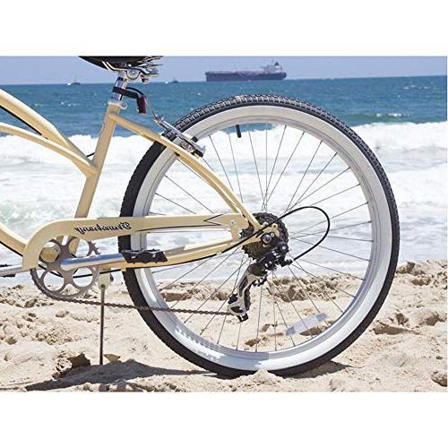 Firmstrong Lady Beach Cruiser Vanilla