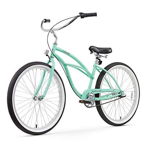 Firmstrong Urban Speed Beach Cruiser Bicycle, 26-Inch,