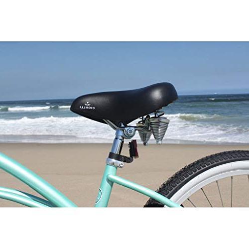 Firmstrong Urban Three Speed Beach 26-Inch, Green