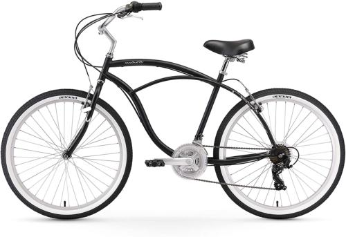Urban Man Cruiser Bike Mens Firmstrong Black