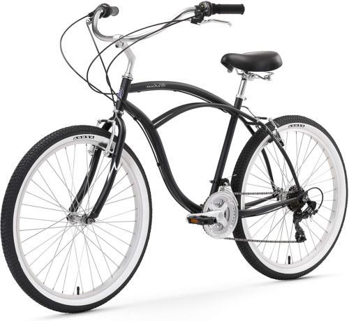 urban man beach cruiser bike mens bicycle