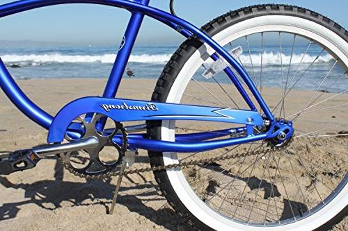 Firmstrong Man Single Speed 24-Inch, Blue