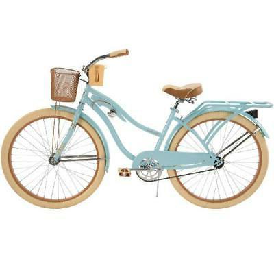 Vintage Huffy 26 Beach Bike Turquoise