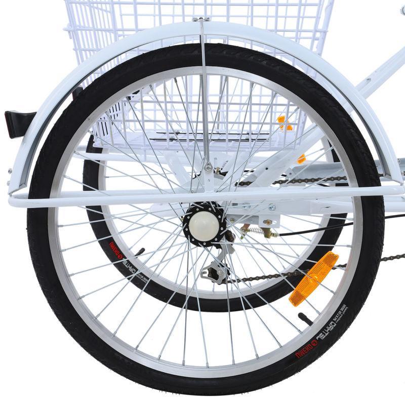 """24"""" 3-Wheel Bicycle Trike"""