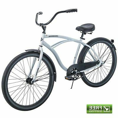 White Cruiser Men Huffy Commuter City
