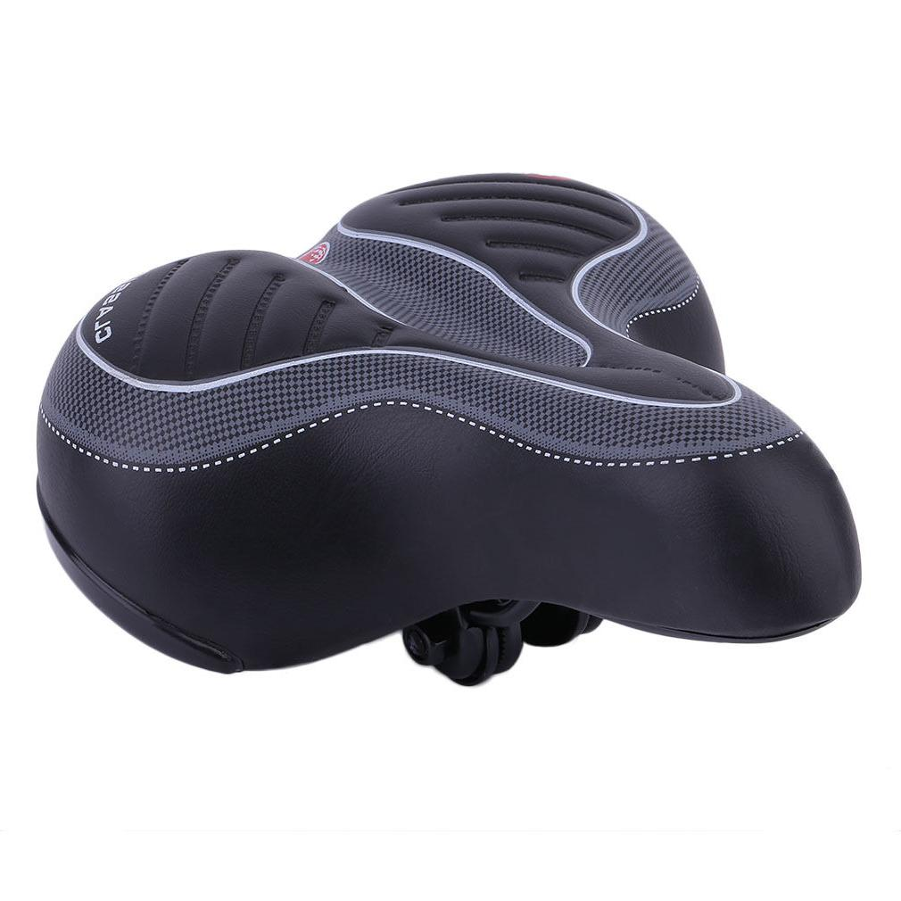 Wide Bum Bicycle Gel Comfort Sporty Soft Saddle