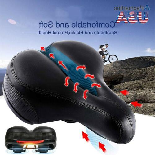 wide comfort bike saddle road cruiser mountain