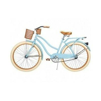 women s beach cruiser bike blue casual
