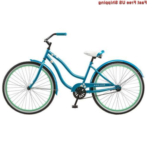 women s cruiser bike 26 inch blue